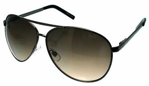 EXTRA LARGE Pilot Sunglasses Big Oversized Gold 62mm Dark Mirror Lenses XXL