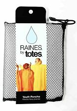 NEW | Youth Poncho One Size Fits Most in CLEAR: Raines by Totes | FREE SHIPPING
