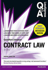 Law Express Question and Answer: Contract Law (Q&A Revision Guide) 3rd Edition b