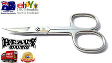 Professional Finger Toe Nail Scissors Curved Arrow Steel Manicure Cuticle