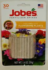 Jobes Plant Food Spikes 10-10-4 For Prolific Flowering Plants & Houseplants 30ct