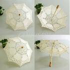 Handmade Cotton Parasol Lace Umbrella Party Bridal Wedding Bridal Decor hu4d