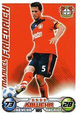 185 Manuel Friedrich - Bayer Leverkusen - TOPPS Match Attax 2009/2010