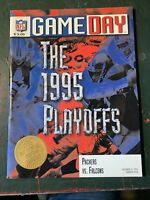 Green Bay Packers 1995 Vintage Football NFL Game Day Program Dec 31 Playoffs