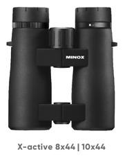 Minox 80407336 Fernglas Xactive 10x44 Neuheit für Reviergang u Outdooraktivität
