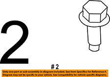 CHRYSLER OEM Side Panel-Latch Screw 6104368AA