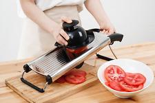 Stainless Steel Mandoline Slicer- Food Slicer-Cutter- Julienne Cutter Mandolin