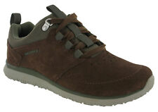 Merrell Mens Getaway Locksley Lace up Breathable Suede Leather Shoes UK 9 Dark Earth