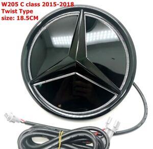 For 2015-2018 Mercedes Benz C Class W205 Twist Type Illuminated LED Star Emblem