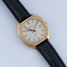 Vintage Bulova Automatic 17 Jewel Watch 11 AOACD Large 38mm Case CA 1976 Runs