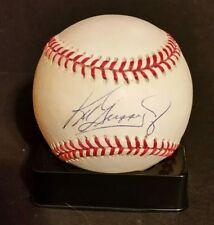 68227cfe668 Ken Griffey Jr Autographed MLB Baseball Seattle Mariners Reds Beckett
