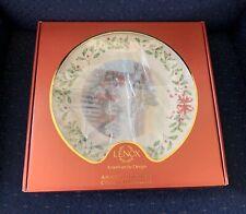 Lenox 2008 Annual Holiday Christmas Collector Plate Home For Christmas Nib 1st Q