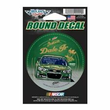 "DALE EARNHARDT JR #88 DEWSHINE 2015 WINCRAFT 3"" ROUND DECAL STICKER"