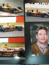 Photo Orange Arrows Asiatech A22 2001 #14 Jos Verstappen (NED) GP Belgium 5x