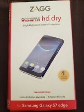 Zagg Invisible Shield For Samsung Galaxy S7 Edge Hd Dry Screen Protector