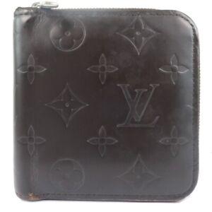 LOUIS VUITTON M66510 Zip Around wallet Brown Brown Monogram grass leather mens