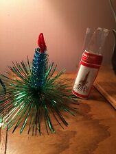 New ListingVintage Shiny Brite Christmas hanging Ornament Decoration Blue & Green