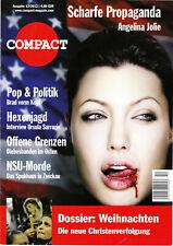 Zeitschrift COMPACT Nr. 12/2012 - Scharfe Propaganda - Angelina Jolie