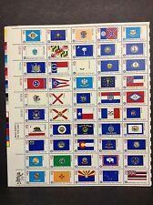 #1633-82 American Bicentennial Issue State Flags   Full Sheet of 50  MNH OG