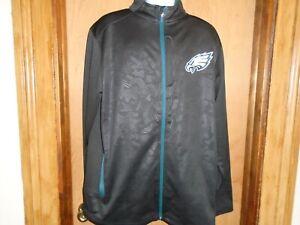 Philadelphia Eagles Fanatics Mens Longitude Latitude Full Zip Track Jacket XL