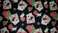 LINED VALANCE 42X12 ELVIS PRESLEY SEASONS GREETINGS CARDS CHRISTMAS HOLLY