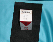 """RAYTHEON 6JE6C 6LQ6 Beam Power Electron Tube in OEM BOX NOS """"Great Find""""!"""