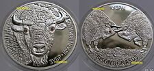 Bison + Bisonkampf   2x 20  Rubel 2012  Weissrussland   Nur 4000 Sets !!!