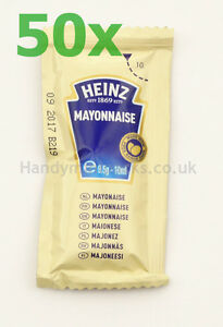 Heinz Sauce Sachets 9 Varieties Available to Mix and Match in Single Portions