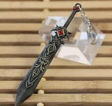 DZ693 Knight Garen League of Legends LOL Game Anime Weapon Metal Key Ring 12cm