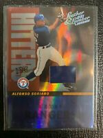 2005 Leather and Lumber Hitters Inc. Jersey #2 Alfonso Soriano 1/100