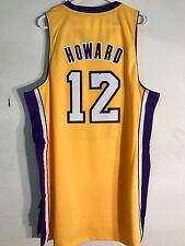 Adidas Swingman NBA Jersey LOS ANGELES Lakers Dwight Howard Gold sz XL