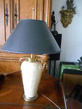 Vintage MCM Shoal Creek Art Deco Table Lamp with Original Shade