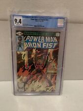 Powerman And Iron Fist #63 CGC 9.4 Marvel 6/80🔥🔥White Pages