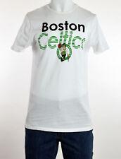 Junk Food Mens White Boston Celtics Graphic Tee T-Shirt M