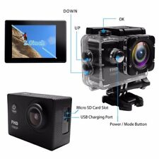 Waterproof Camera 1080P Full HD Sport Action Camera 2.0 Inch LCD Display Outdoor