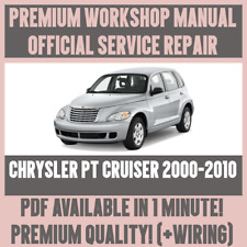 *WORKSHOP MANUAL SERVICE & REPAIR GUIDE for CHRYSLER PT CRUISER 2000-2010+WIRING