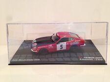 Datsun 240Z R. Aaltonen - J. Todt Rally Monté - Carlos 1972 1:43 échelle neuf