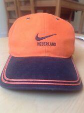 Netherlands Holland KNVB Nederland Nike Swoosh Hat Cap adjustable fit Oranje