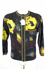 MJean paul Gaultier veste taille xs/46 slim soie d'été veste blouson silk jacket