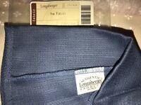 * Longaberger Cornflower Blue Liner For Your Small  Basket Fruit Basket 2307888