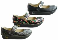 NEW ALEGRIA PALOMA WOMENS COMFORTABLE LEATHER MARY JANE SHOES
