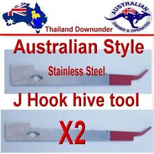 BEE KEEPING J  STYLE  HIVE AUSSIE TOOL HEAVY DUTY STAINLESS STEEL HIVE EQUIPMENT