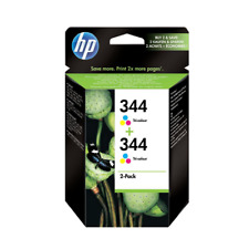 HP Tintenpatrone C9505EE 3-farbig Nr.344 Vivera Doppelpack  **MHD abgelaufen**