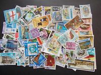 Quality Packet of 100 Different Used Guernsey Stamps~Collection~UK Seller