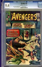 Avengers #18 CGC 9.4 NM Universal CGC #0719202004