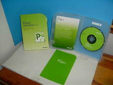 MICROSOFT PROJECT STANDARD 2010 PROGRAM WITH BOX AND PRODUCT KEY