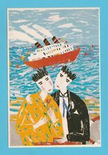 NOVELTY  -  JUST  SEVENTEEN  POSTCARD  -  HELLO  POSTCARD  -  5  OF  8