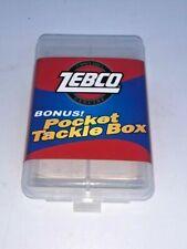Zebco Bonus! Pocket Tackle Box