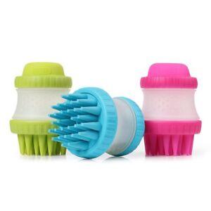 Dexas Petware ScrubBuster Silicone Dog Washing Brush - Pink, Blue or Green