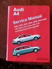 2002-2008 Audi A4 Avant Cabriolet Bentley Service Repair Shop Manual Book A408